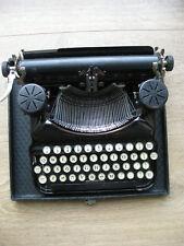 Vintage Smith and Corona typewriter and case