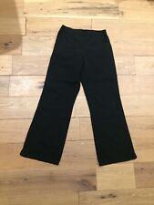 black scrub pants flare leg women's small Dickies