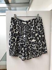 saba womens extra small 6 8 leopard print animal short summer brown beach casual