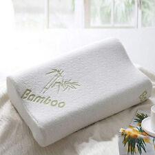 30x50 Sleep Bamboo Fiber Slow Rebound Memory Foam Pillow Cervical Health Care GV