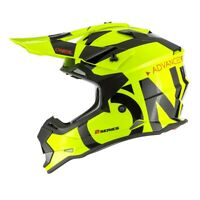 Casco moto cross enduro O'neal Serie 2 Slick Fluo + maschera cross