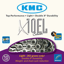 KMC X10-EL 10 Speed Chain Silver - 114 Links