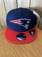 BRAND NEW! New Era NFL NEW ENGLAND PATRIOTS Essential 9FIFTY Cap Size S-M