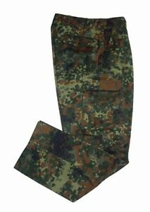 German Flecktarn Combat Trousers - Camo Cargo Army Military Pants NEW