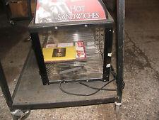 APW Wyott DWC-17 - Countertop Display Warming   Pretzel Concession Merchandiser