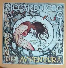 42616 LP 33 giri - Riccardo Cocciante - La grande avventura - Virgin 1987