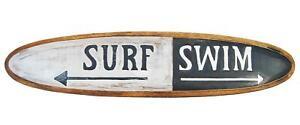 Deko Surfbrett 100cm Strand Deko Swim Surf Beach Surfboard Hobbyraum Lounge