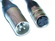 Adapterkabel 3pol DIN Tuchel - XLR male für MD 421,MD21,Sennheiser,Neumann