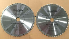 2X Mitre Saw Table Saw Blade 250mm 48T,60T FIT MAKITA,ROYBI,AEG,OZITO,BOSCH,GMC