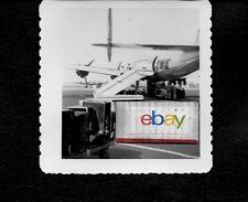 TWA TRANS WORLD LOCKHEED CONSTELLATION 1952 B/W ORIGINAL PHOTO