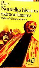 EDGAR ALLAN POE*éd. RARE 1987*NOUVELLES HISTOIRES EXTRAORDINAIRES*Préf.T.TODOROV