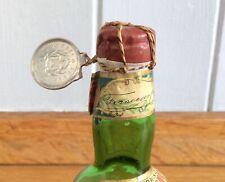Miniature Italian glass bottle, Sigillo Stella , Amaro Savoja 🇮🇹