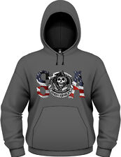 Sons Of Anarchy - Flag Felpa Homme / Man - Taille / Size XL PLASTIC HEAD
