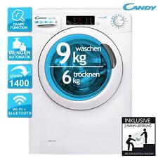 Waschtrockner 9 KG Waschen und 6 KG Trocknen Candy CSOW 4965TWE/1-S Dampf 2ML