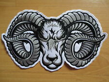 Huge SHEEP 11'' inches large Embroidery Patches for Jacket Back 28.5CM *18CM