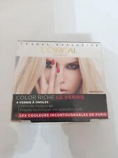 (100ml/39,75€) L´Oreal Color Riche Le vernis 4 Farben Set 4 x 5 ml NEU