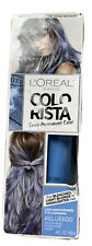 LOreal Paris Colorista Semi Permanent Hair Color Light Blondes Blue #600 New
