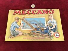 catalogue brochure de jouet N 24 meccano
