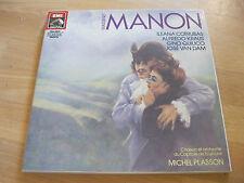 3 LP Box Massenet Manon Cotrubas Kraus Quilico Plasson  Vinyl EMI 1731413