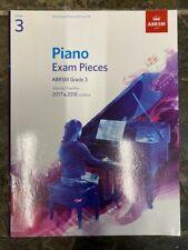 ABRSM Piano Exam Grade 3 2017-2019