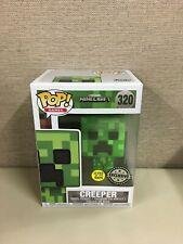 Funko POP! Games: Minecraft - Creeper Glow in the Dark #320 *NO FYE STICKER*