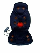 Massage Chair Pad Electric Seat With Heat Office Car Cushion Back Neck