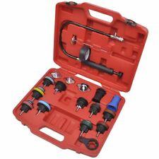 18 pcs Radiator Pressure Tester Tool Kit Professional Garage Equipment & Tools