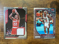2021 Panini Prizm Clyde Drexler Sensational Swatches Game Worn Jersey & USA #6