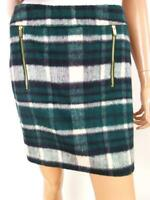 Vintage Women's Skirt Size M green grill