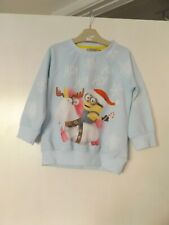 Next Minion Christmas jumper aged 3 years