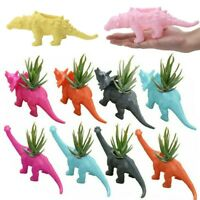 1Pc Cute Dinosaur Vase Flower Pot Potted Planter Container for Home Office Decor