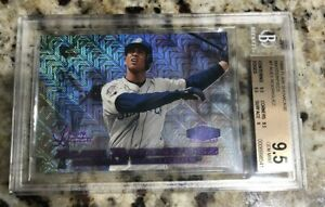 Alex Rodriguez 1998 Fleer Flair Showcase 7 Legacy Masterpiece 1/1 Row 0 BGS ARod