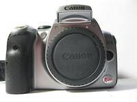 Canon EOS Digital Rebel / 300D 6.3 MP Digital SLR Camera - Black (Body Only)