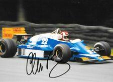 Allen Berg SIGNED , Osella-Alfa Romeo FA1F , British GP  Brands Hatch 1986