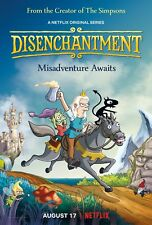 30x20 36x24 Poster Disenchantment Misadventure Awaits Animated TV Series T-152