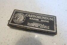 Vintage Carborundum Razor Hone Sharpening Stone No102