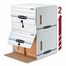 Bankers Box Side-Tab File Storage Box Letter 15-1/4 x 13-1/2 x 10-3/4 FEL-00061
