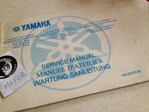 Yamaha Suspensión Desde Carbon Monocross Worshop Servicio Manual Taller YZ