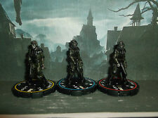 HORRORCLIX Zombie Trooper R.E.V.SETof 3 Pieces #067,#068 & #069 W/CARDS The Lab