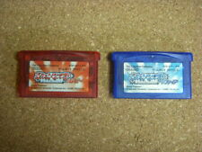 Nintendo gameboy advance pokemon Ruby Sapphire from japan