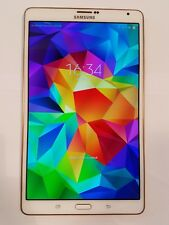 Samsung Galaxy Tab S SM-T705 16GB, Wi-Fi + 4G Unlocked, 8.4in -  White