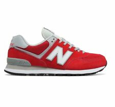 New Balance ML574VIE LIFESTYLE Varsity Men's Low-Top Sneaker - Red