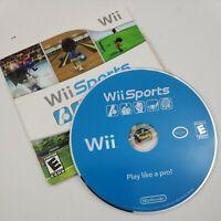 Wii Sports Nintendo Wii 2006 Game Cardboard Case