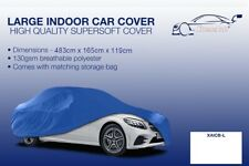 Large blue Indoor Car Cover Protector Toyota MR 2 1989-2007
