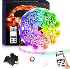 Maxsure Tiras LED, Tira LED Alexa WiFi 5M, Compatible con Alexa y Google Home,