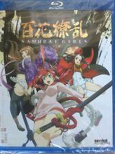 Samurai Girls Complete Collection Blu-ray 2011 2-Disc Set lot english dub sentai