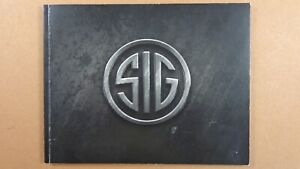 2008 Sig Sauer Products Catalog Booklet / New /  Pistols / Rifles