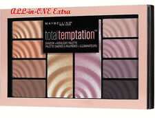 Maybelline Total Temptation Lidschatten Highlighter Palette