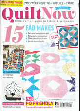 QUILT NOW MAGAZINE,   ISSUE, 40   FREE GIFTS OR INSERTS ARE NOT INCLUDED.
