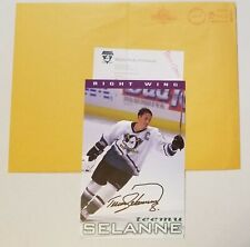 Team Issued Mighty Ducks Teemu Selanne Signed Photo AUTO Reprint Autopen